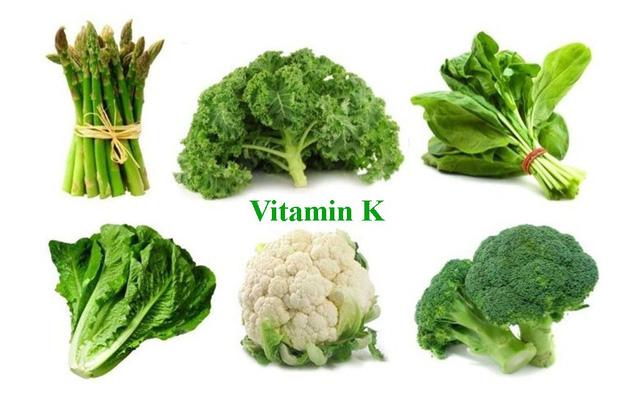 Vitamin K có tác dụng cải thiện tình trạng kinh nguyệt ra nhiều